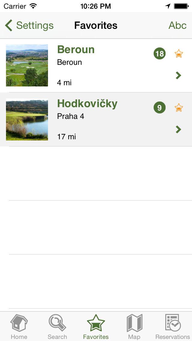 Czech Golf Guide