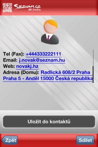 Seznam.cz qr čtečka