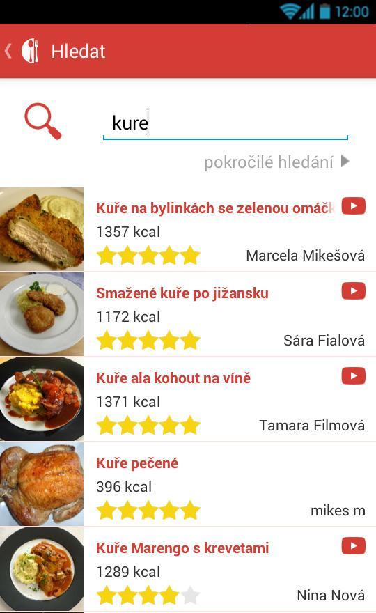 Miluji Vaření - recepty