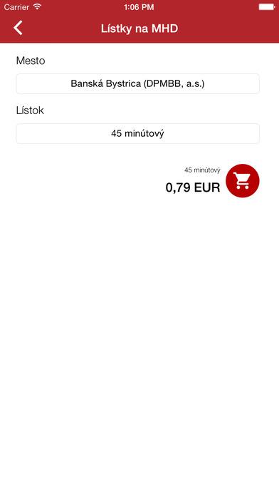 SMS platby - MHD, parkovné