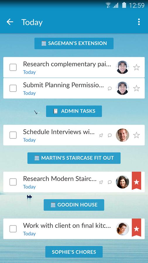 Wunderlist Task Manager