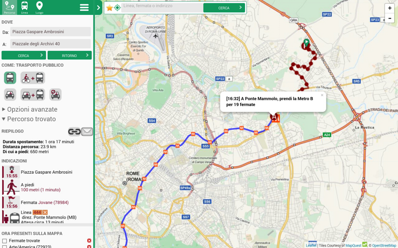 Muoversi a Roma App ufficiale