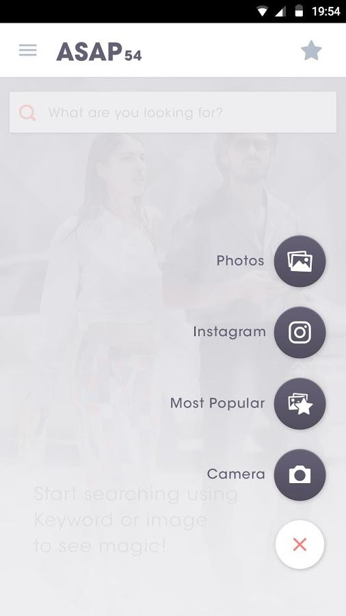 ASAP54 Fashion Search