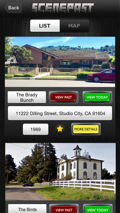 ScenePast: Movie & TV Location Time Travel