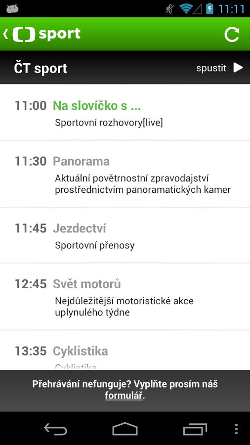 ČT sport