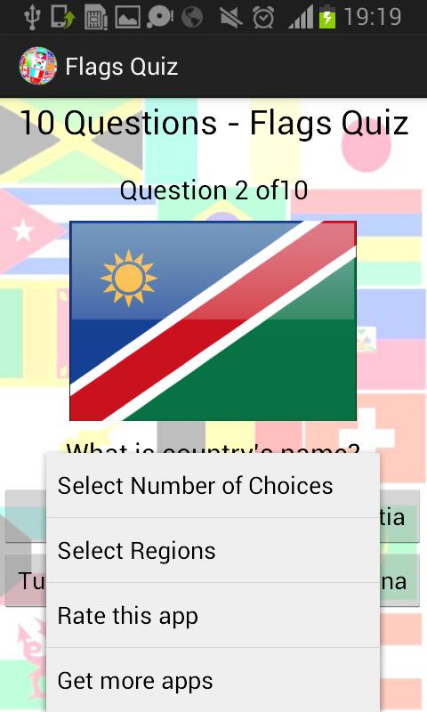 Národní Vlajky Kvíz